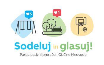 Sodeluj in glasuj! - Participativni proračun Občine Medvode