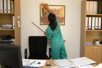Okolju prijazne storitve čiščenja poslovnih prostorov