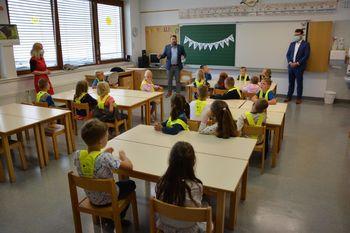 Prvi šolski dan za 182 prvošolcev
