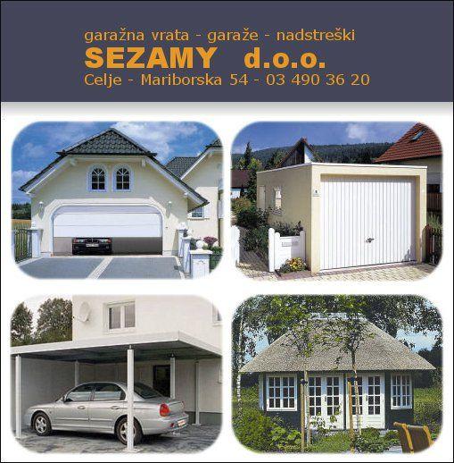 SEZAMY d.o.o., notranja in garažna vrata