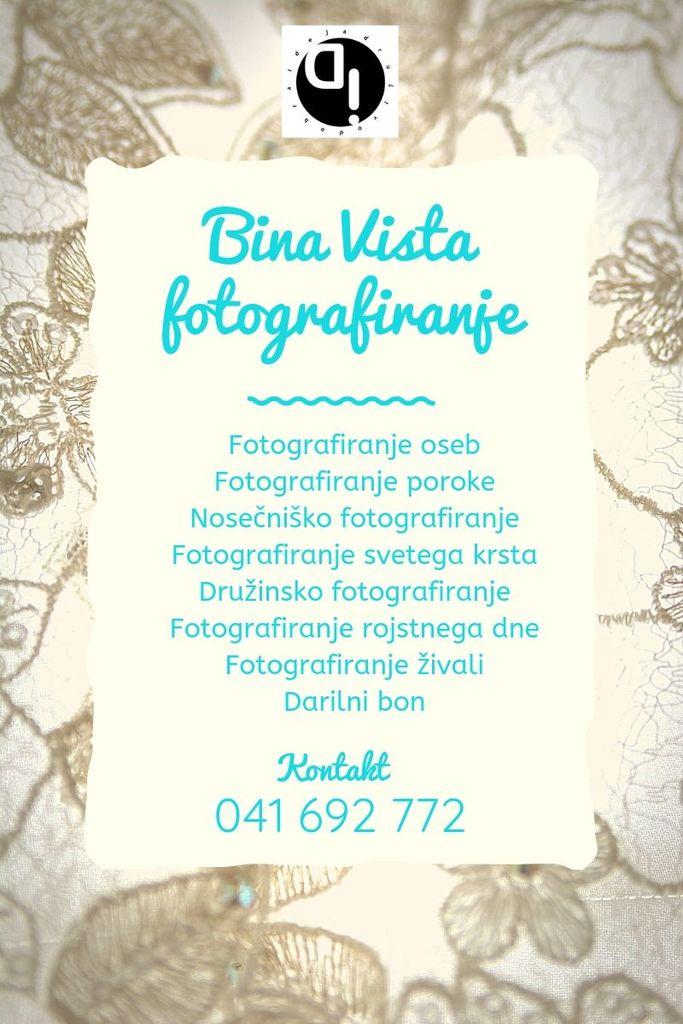 Fotografiranje Bina Vista