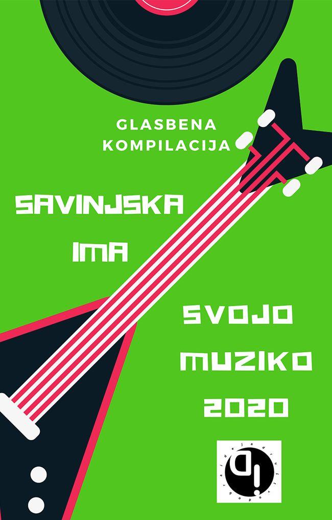 Tretja glasbena kompilacija Savinjska ima svojo muziko 2020