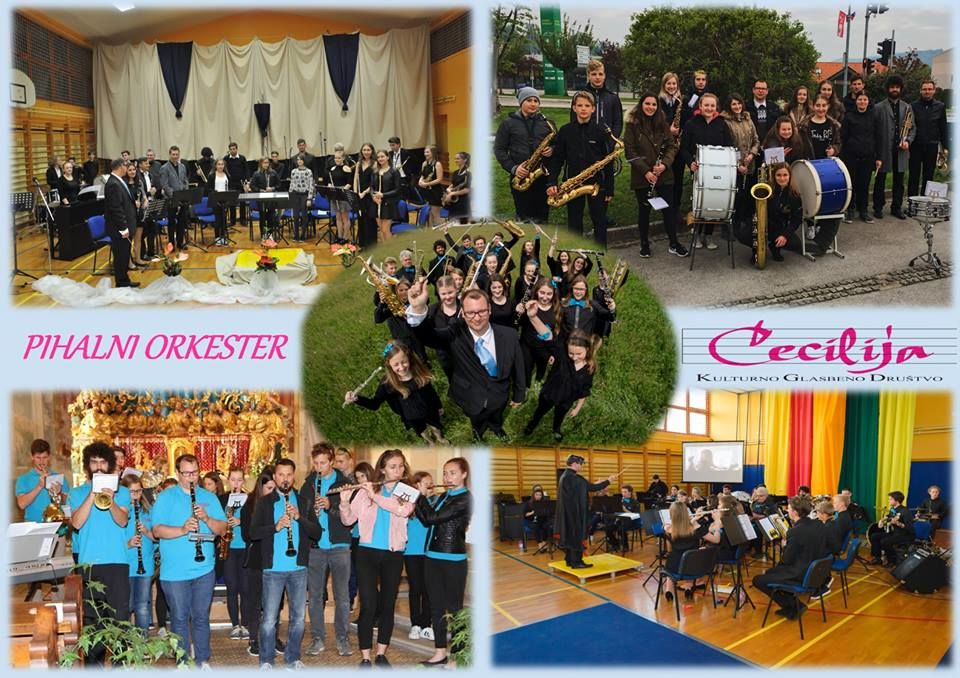 Pihalni orkester Cecilija