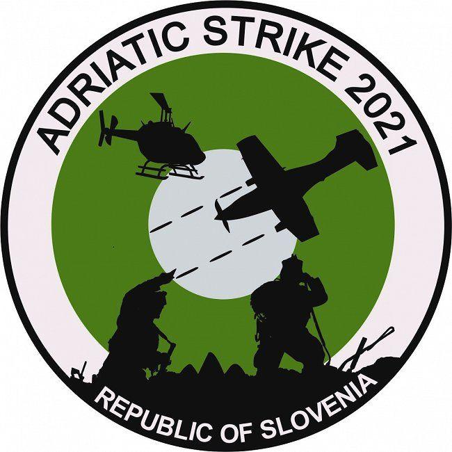 Obvestilo o vsakoletni mednarodni vojaški vaji Jadransku udar/Adriatic Strike 2021