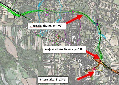 Župan s predstavniki civilne iniciative glede poteka načrtovane ceste skozi naselje Brezina