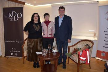 Pogovor s Cvetko Tomin, generalno sekretarko Rdečega križa Slovenije