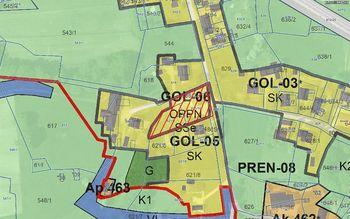 Seznanitev javnosti s spremembo in dopolnitvijo OPPN za stanovanjsko gradnjo Gornji Lenart, del območja GOL-06 (SD OPPN 1) in možnostjo podaje pripomb in predlogov