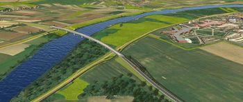 V Brežicah bo država  gradila najdaljši most čez Savo