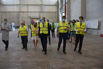Minister za gospodarski razvoj in tehnologijo Zdravko Počivalšek na delovnem obisku v občini Brežice