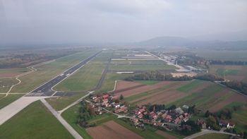 Obvestilo o aktivnostih v sklopu vojaške vaje »ROCK KLEŠČMAN« na letališču Cerklje ob Krki