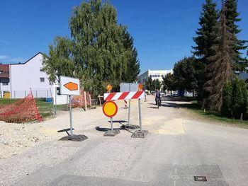 Obnova Trdinove ulice v Brežicah