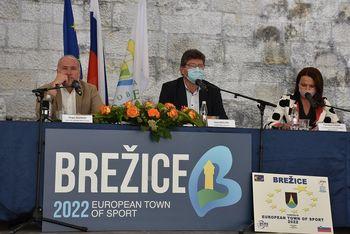Občina Brežice kandidira za naziv Evropsko mesto športa 2022 - DOBRODOŠLI V MESTU ŠPORTA ZA VSE GENERACIJE!