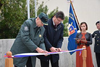 V Brežicah svečano odkritje pomnika osamosvojitveni vojni