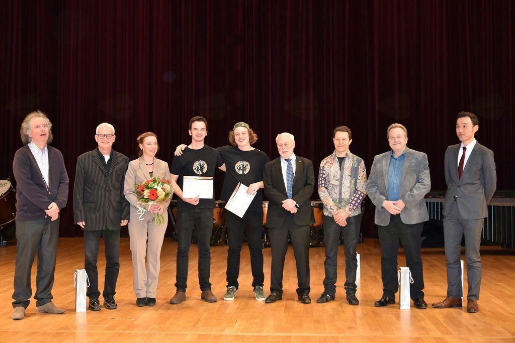 Čestitka župana Občine Trebnje Janu Čibeju in Luku Poljancu za njun izjemen uspeh