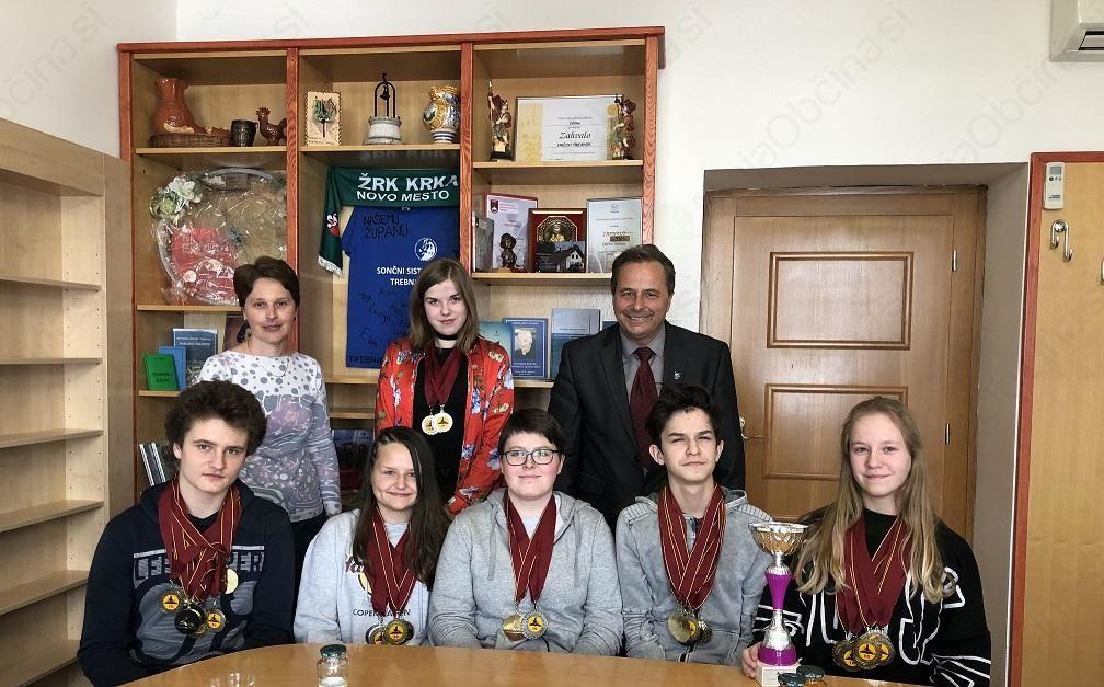 Učenci Osnovne šole Trebnje med najboljšimi v Sloveniji na svetovnem pokalu v znanju