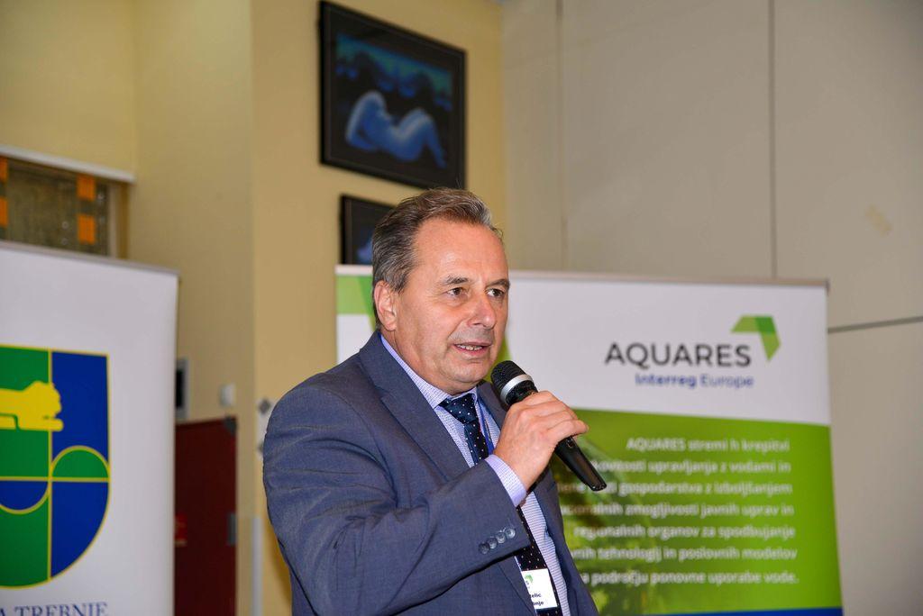 AQUARES: Posvet o ponovni uporabi vode – priložnosti in izzivi