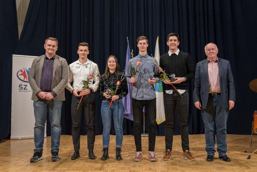 Badmintonski klub Mirna, Maja Vojnovič in Staš Skube so športniki leta 2019