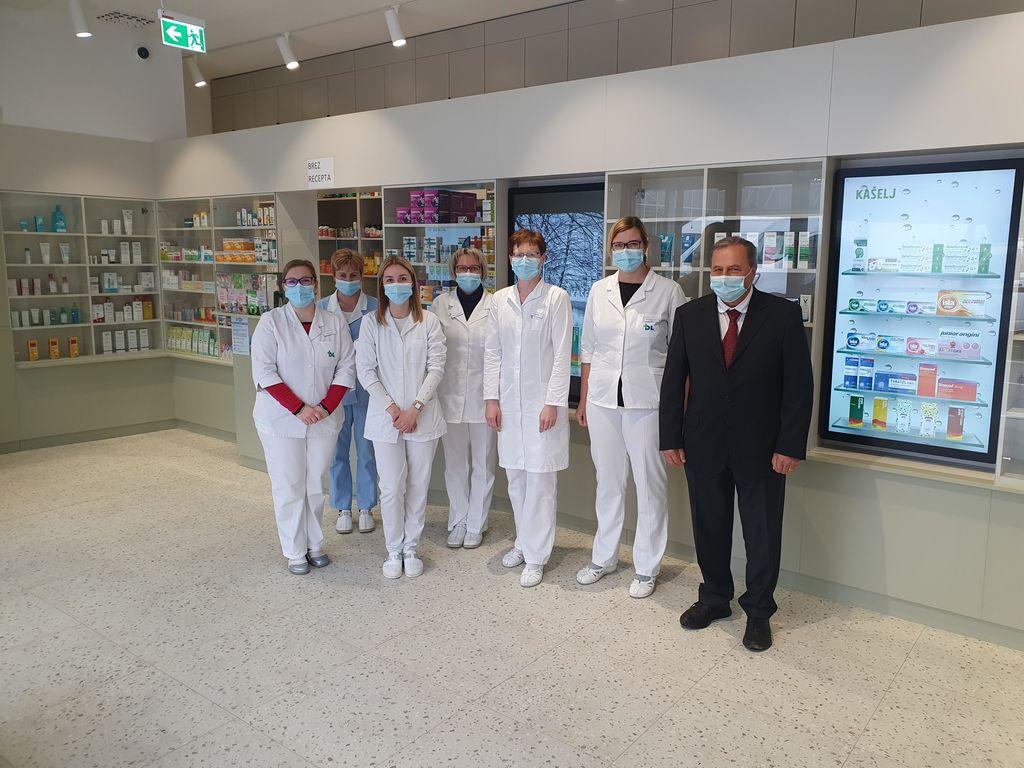 Odprtje nove lekarne v Trebnjem