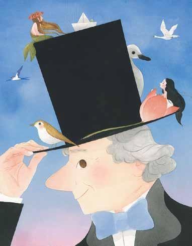 Naša občanka ilustrirala slikanico o življenju velikega danskega pravljičarja Hansa Christiana Andersena