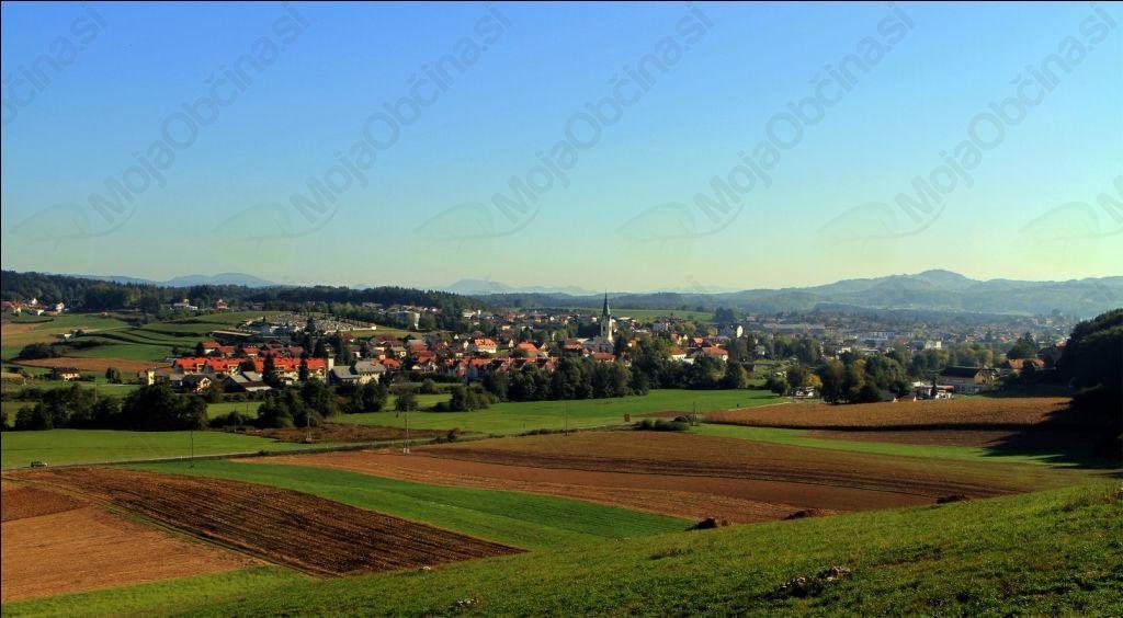 Mesto Trebnje (Avtorske pravice: Samo Kastelic)