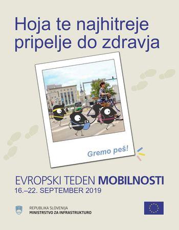 Evropski teden mobilnosti v Trebnjem