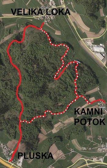 VABILO na otvoritev gozdnih cest Velika Loka-Mlačne in Pluska-Mlačne