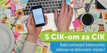 S CIK-om za CIK