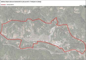 Kolesarske in peš površine v Trebnjem in zaledju - VABILO na prvo delavnico vezano na pripravo idejne zasnove