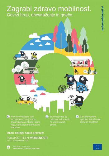 Občina Trebnje bo z dodatno odobrenimi sredstvi še razširila nabor aktivnosti v sklopu Evropskega tedna mobilnosti 2020 (16.-22. september 2020)